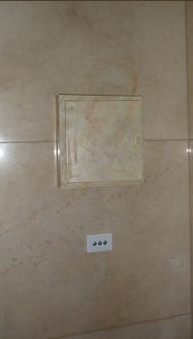 faux marble electrical box